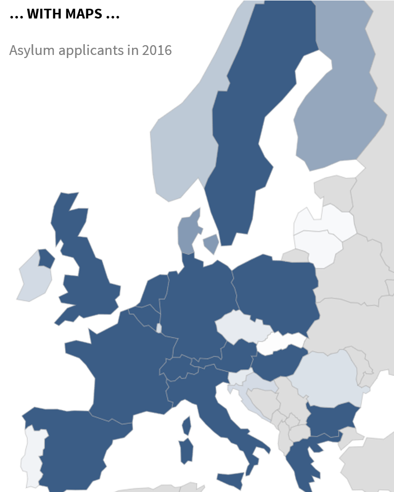 Asylum Applicants in 2016